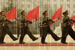 Le forze armate cinesi mostrano i cyber-muscoli