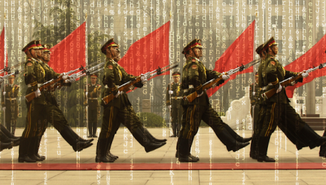 Cina, parata militare