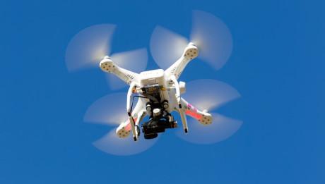 Drone in volo