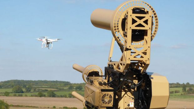 Anti-UAV Defence Systems (AUDS). Fonte: Blighter Surveillance Systems