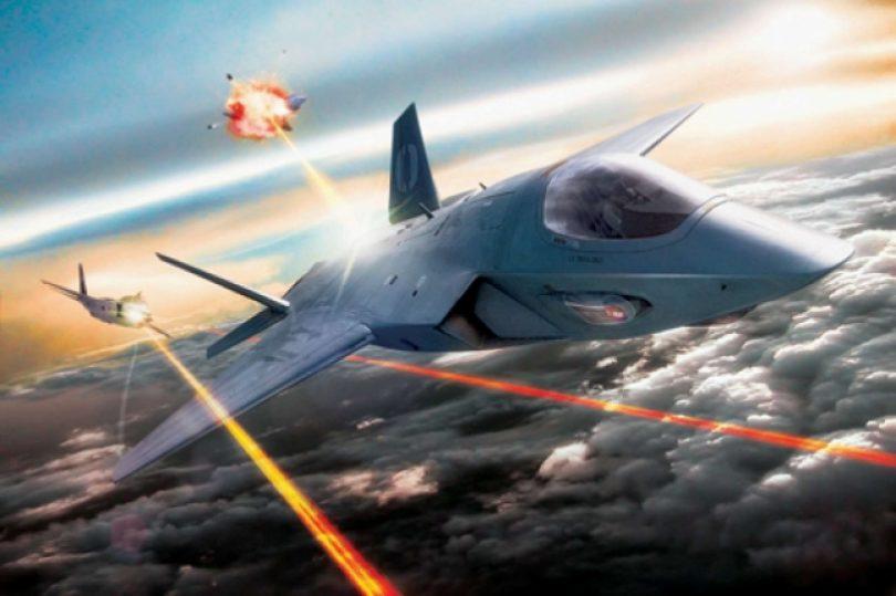 I droni da guerra spareranno raggi laser