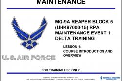 Documenti riservati sul drone MQ-9 disponibili sul dark web
