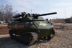 Problemi per il drone militare russo Uran-9